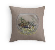 Cracking Space Throw Pillow