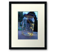 lights. Framed Print