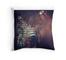 When the Wolf Bane Blooms Throw Pillow