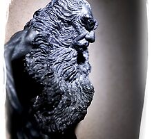 old man bearded. by AnjiMarth