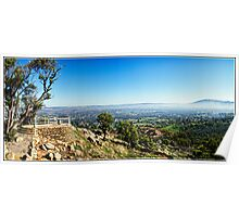 Looking Out Over York, Western Australia. Poster