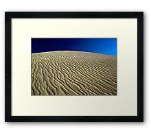 Wave Sand Framed Print