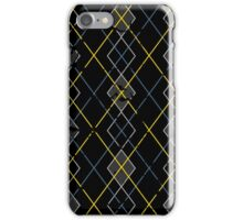 Argyle Blue/Grey iPhone Case/Skin