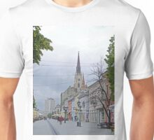 A Street in Novi Sad Unisex T-Shirt