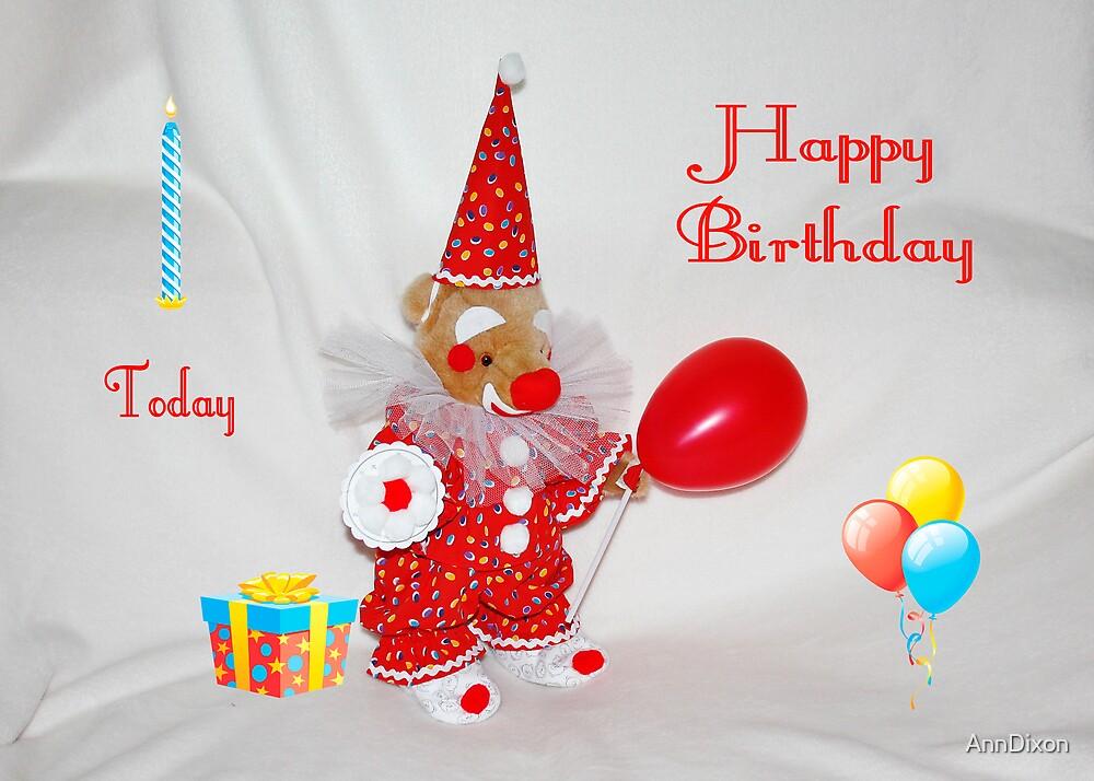 Happy Birthday Card by AnnDixon