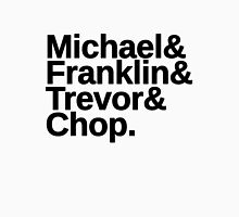 Michael & Franklin & Trevor & Chop. GTA 5 T-Shirt