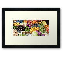 Healthy colour Framed Print
