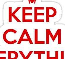 Keep Calm - Shiny Sticker