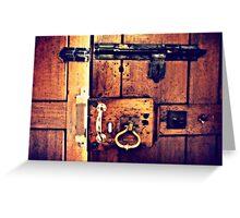 Chamber of Secrets Greeting Card