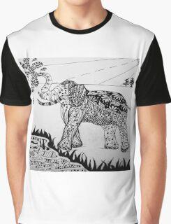 Zen elephant Graphic T-Shirt