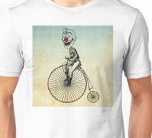 clown on a bike 02 Unisex T-Shirt