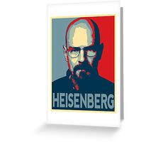 Obamized Mr Heisenberg (Red) Greeting Card
