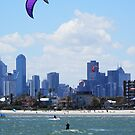 St Kilda Beach, Melbourne - Christmas Day 2012 by BronReid