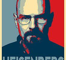 Obamized Mr Heisenberg (Blue) by miki1510