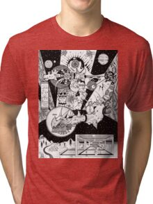 Fleeting Cold-Blooded Odyssey Tri-blend T-Shirt