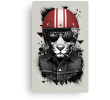 Jungle Rider Canvas Print