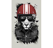 Jungle Rider Photographic Print