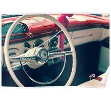 Vintage Classic Antique Car Poster