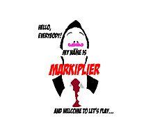 Markiplier intro Photographic Print