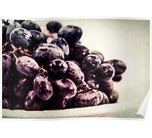 Food Still Life - Fresh Grapes Poster
