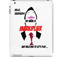 Markiplier intro iPad Case/Skin