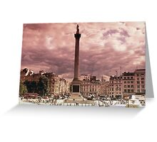 London - A View  Greeting Card