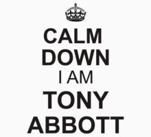 Calm Down I'am Tonny Abbott by incetelso