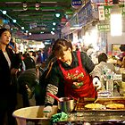 Old Meets New at the Night Market by emmawind