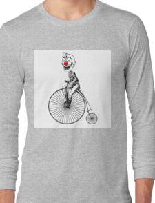 clown on a bike Long Sleeve T-Shirt
