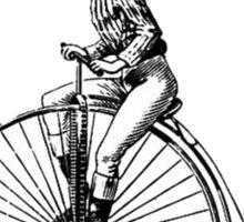clown on a bike Sticker