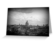 Postcard of Rome Greeting Card
