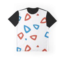 Togepi pattern Graphic T-Shirt