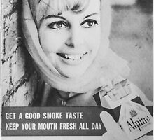 Retro Vintage Cigarette Advertisement by jamjarphotos