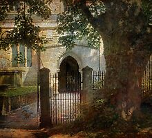 english church by Teresa Pople