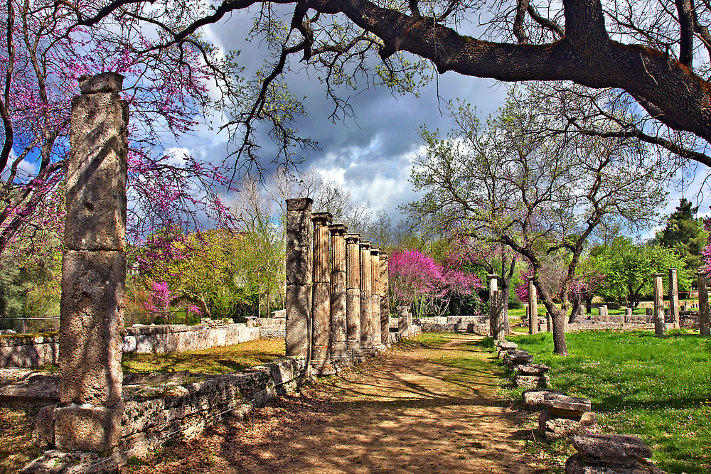 Springtime in Ancient Olympia by Hercules Milas