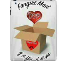 Fangirl Mail iPad Case/Skin