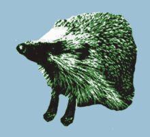 Green Hedgehog Kids Tee