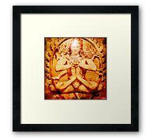 Yoga by Shiva Framed Print