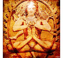 Yoga by Shiva Photographic Print
