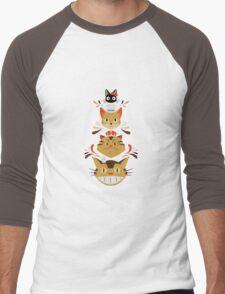 ghibli genk Men's Baseball ¾ T-Shirt
