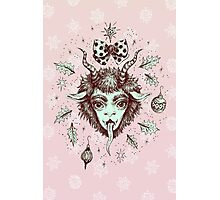 Merry Krampus!  Photographic Print
