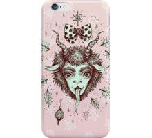Merry Krampus!  iPhone Case/Skin