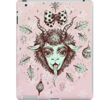 Merry Krampus!  iPad Case/Skin