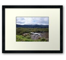 two boats Framed Print