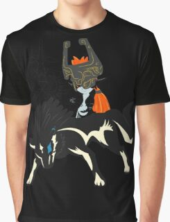 Wolf Link - Twillight Princess Graphic T-Shirt