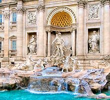 Memorie di Roma - Trevi Fountain by Mark Tisdale