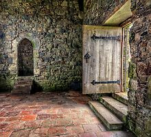 The Door to Rodel Church by hebrideslight