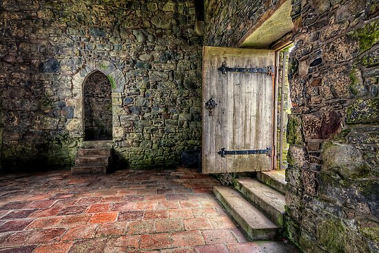 The Door to Rodel Church by hebrideslight