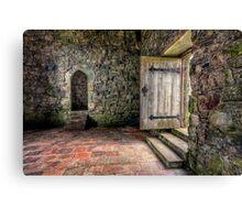 The Door to Rodel Church Canvas Print