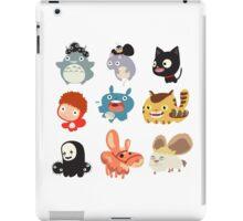 all character studio ghibli iPad Case/Skin